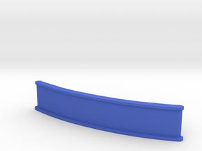 ZMR250 Front bumper (50mm) in Blue Processed Versatile Plastic