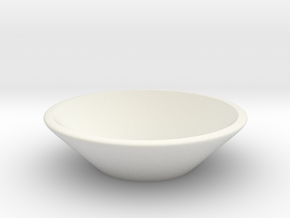 Small Bowl in White Strong & Flexible