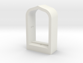 Arabian Window Frame in White Natural Versatile Plastic