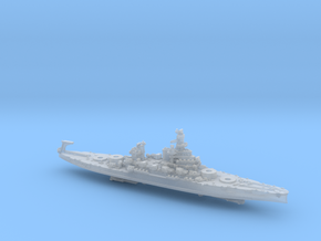 1/1800 US BB38 Pennsylvania [1943] in Smooth Fine Detail Plastic