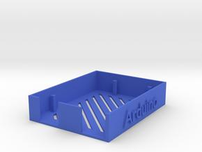 Arduino Case in Blue Processed Versatile Plastic