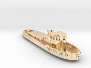 005A 1/350 Tug boat in 14k Gold Plated Brass