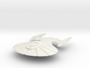 Milner Class Destroyer in White Natural Versatile Plastic