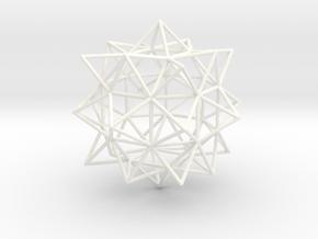 Vigintisex Basium Elevatus Vacuus in White Strong & Flexible Polished