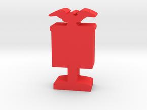 Game Piece, Roman Banner in Red Processed Versatile Plastic