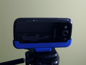 Samsung Galaxy S3 Tripod Mount in Blue Strong & Flexible Polished