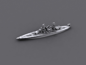 USN BB46 Maryland [early-war;1941] in White Natural Versatile Plastic: 1:1800