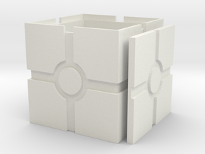Iconic Box, revised in White Natural Versatile Plastic