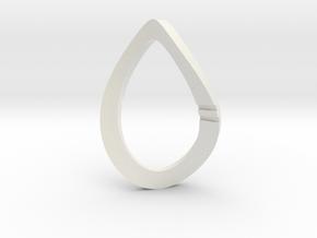 Modern Art D2 / 2-Sided Die in White Natural Versatile Plastic