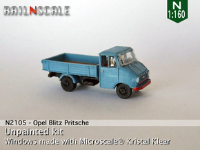 Opel Blitz A Pritsche (N 1:160) in Frosted Ultra Detail