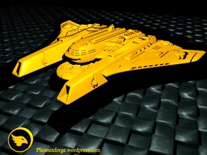 Sheppard MKI Battleship in Yellow Strong & Flexible Polished