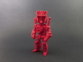 "Minibot ""Chaise"" in Red Processed Versatile Plastic"