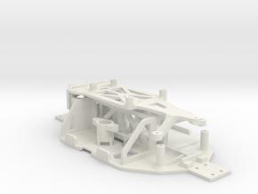 Losi Micro 1/24 Chassis Ver. A in White Natural Versatile Plastic