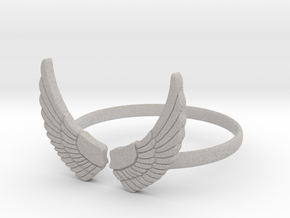 Wings Ring in Full Color Sandstone