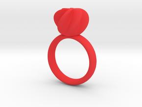 Flora Ring in Red Processed Versatile Plastic: 6 / 51.5