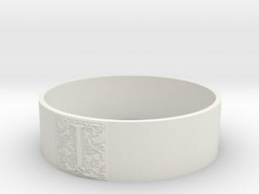JBangle in White Natural Versatile Plastic