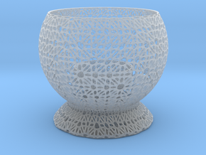 Fantasy Candle Holder in Smooth Fine Detail Plastic