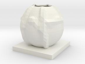 Vase 20 in White Strong & Flexible