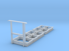 GN 15 Unterwagen für Eigenbauten in Frosted Ultra Detail