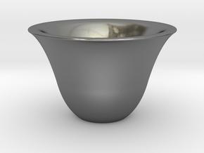 Japanse Sake-cup  in Polished Silver