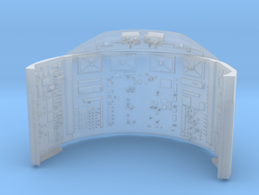 YT1300 DEAGO CABIN UPPER WALL  in Smooth Fine Detail Plastic