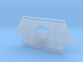 T-34 Armor Plate from Factory 183 Late Type 1/35 in Smooth Fine Detail Plastic