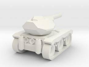 Haubitze Mini in White Natural Versatile Plastic