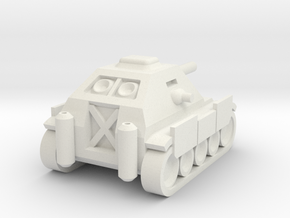Jagdpanzer IV Mini in White Natural Versatile Plastic
