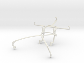 Controller mount for Shield 2015 & LG Optimus G LS in White Natural Versatile Plastic