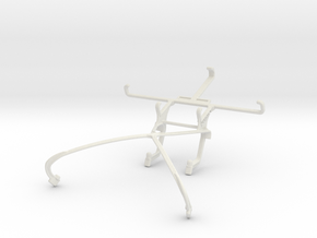 Controller mount for Shield 2015 & Sony Xperia Z in White Natural Versatile Plastic