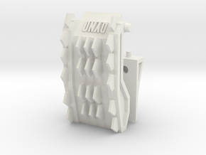 Customatron - Spikeback - Backpack Kit in White Natural Versatile Plastic