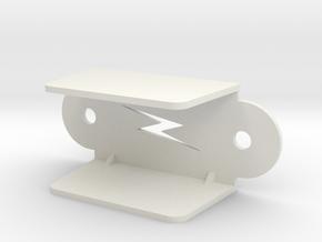 Pinball Lightning Lane Guide (Large) in White Strong & Flexible