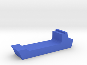 Game Piece, Cargo Ship in Blue Processed Versatile Plastic