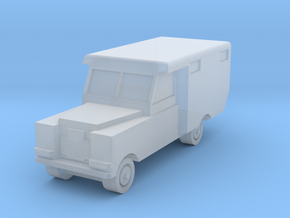 1:450 Land Rover Series 2a Ambulance, for T gauge in Smooth Fine Detail Plastic