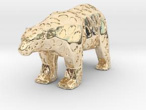 Polarbear in 14K Yellow Gold