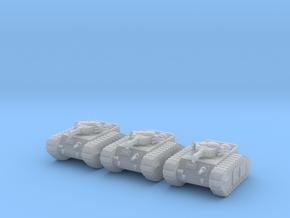 6mm Dieselpunk flamer tank Mk.D in Frosted Ultra Detail