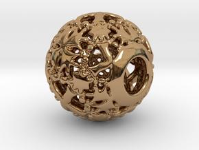 PA CharmV1D14SE569 in Polished Brass