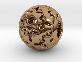PA CharmV1D14SE562 in Polished Brass