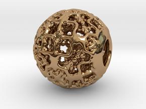 PA CharmV1D14SE548 in Polished Brass