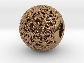 PA CharmV1D14SE504 in Polished Brass