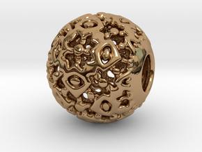 PA CharmV1D14SE495 in Polished Brass