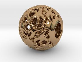 PA CharmV1D14SE83 in Polished Brass