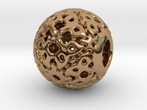 PA CharmV1D14SE82 in Polished Brass