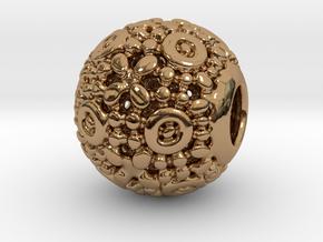 PA CharmV1D14SE76 in Polished Brass
