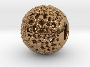 PA CharmV1D14SE75 in Polished Brass