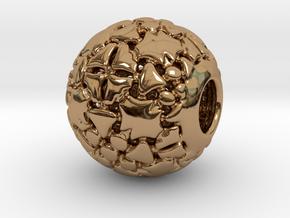 PA CharmV1D14SE57 in Polished Brass