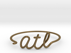 ATL Wire Bracelet (Atlanta) in Natural Bronze