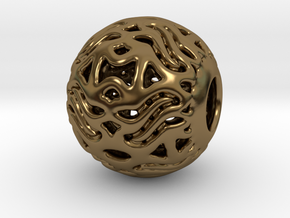 PA CharmV1D14PE23s2 in Polished Bronze