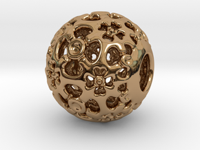 PA CharmV1D14SE581 in Polished Brass