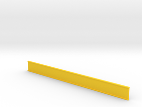 ZMR250 Bumper for LED Strip 12x150mm in Yellow Processed Versatile Plastic